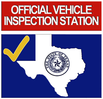Texas state inspection at Drivers Edge