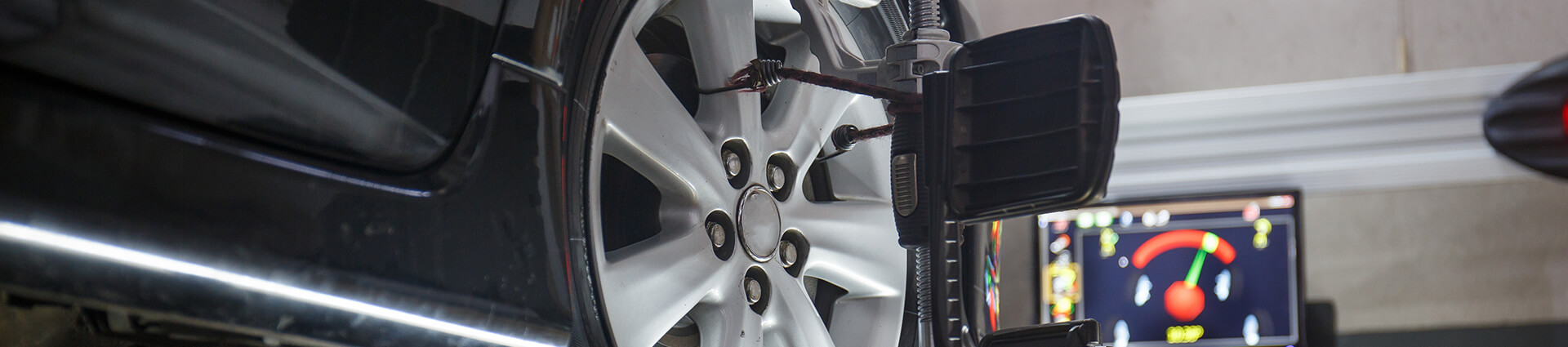 Car Wheel & Tire Alignment Page Banner